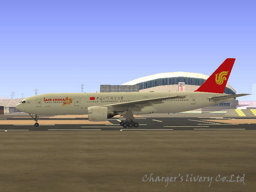 Boeing 777-200ER Air China new livery
