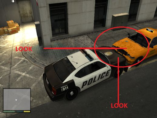 GTA V Vehicle Damage for GTA IV