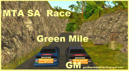 MTA/GTA SA Race Green Mile Map