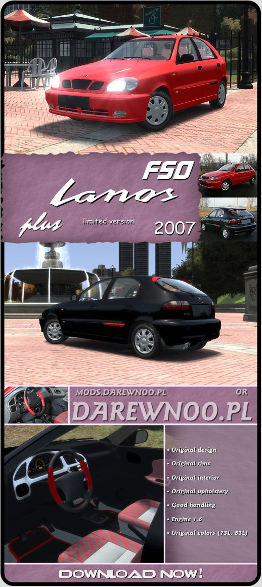 2007 FSO Lanos Plus (Limited Version)