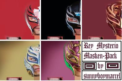 Mysterio Mask Pack