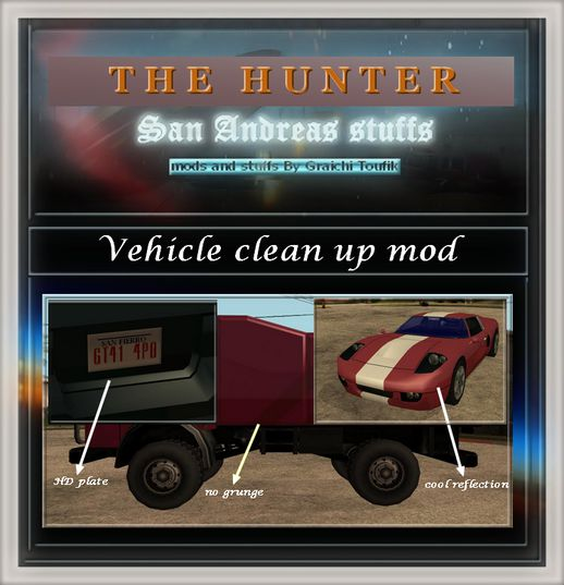 Vehicle Clean up Mod