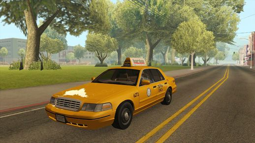 Ford Crown Victoria LA Taxi
