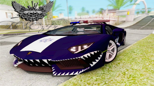 Lamborghini Aventador LP700 De La Policia Federal By Th3Cz4r
