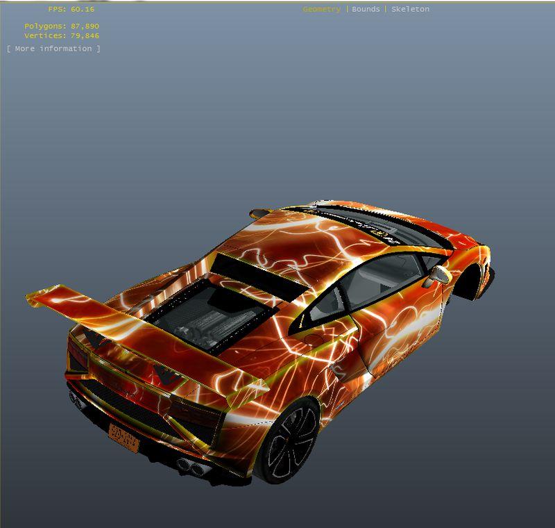 GTA 4 Lamborghini Gallardo Red Light PJ Mod