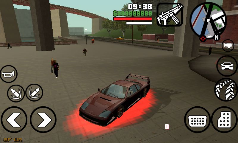 GTA San Andreas Neon Spawner for Android Mod - GTAinside com