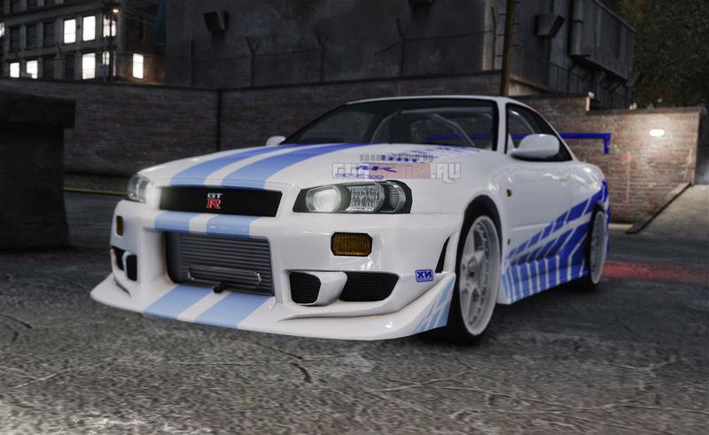 1999 Nissan Skyline GT R R34 V Spec V1
