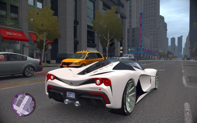 GTA 4 GTA V DLC Turismo R Mod - GTAinside.com