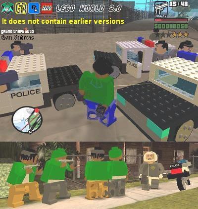 Скачать мод на Лего
