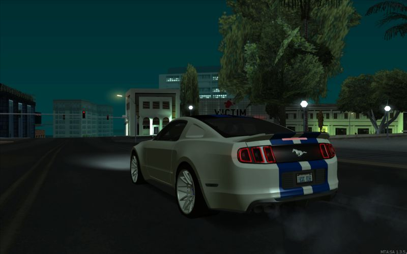 GTA San Andreas 2013 Ford Mustang - Need For Speed Movie Edition Mod
