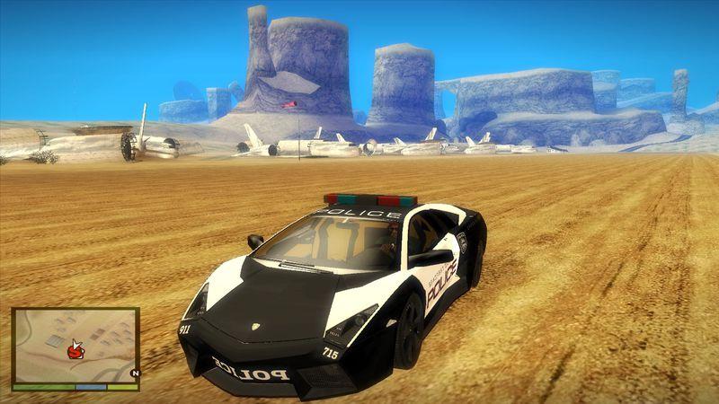 Gta San Andreas Nfs Hot Pursuit Lamborghini Reventon