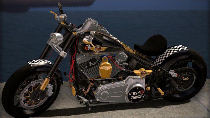 Harley Davidson Fatboy Racing Bobber