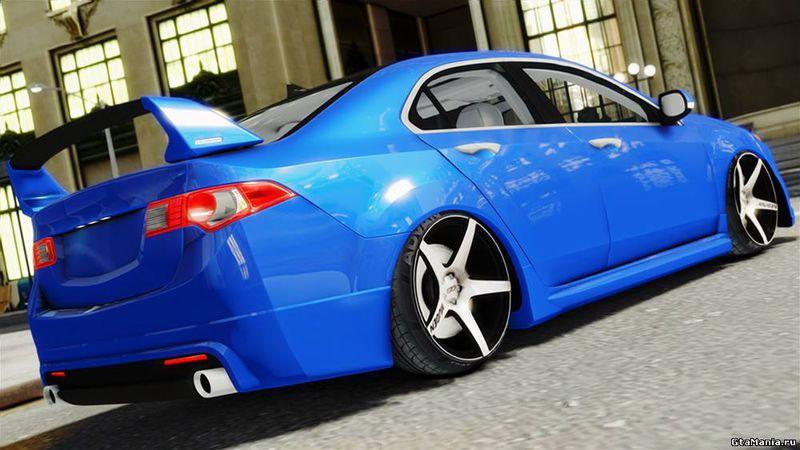 GTA Acura TSX Mugen Mod GTAinsidecom - Acura tsx mods