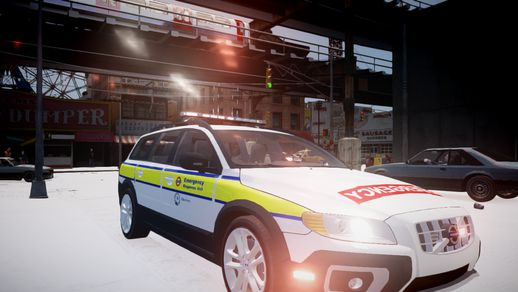 London Underground Emergency Response Unit Volvo XC70