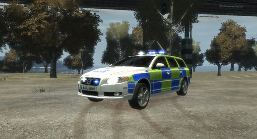 Huddlu / Welsh Police - Roads Policing Unit - Volvo V70 D5