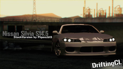 Nissan Silvia S14.5 StockVersion