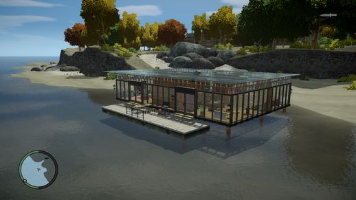 Luxury Beach Glass House