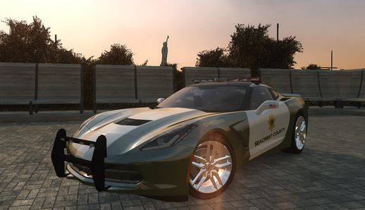 Corvette C7 Stingray Interceptor