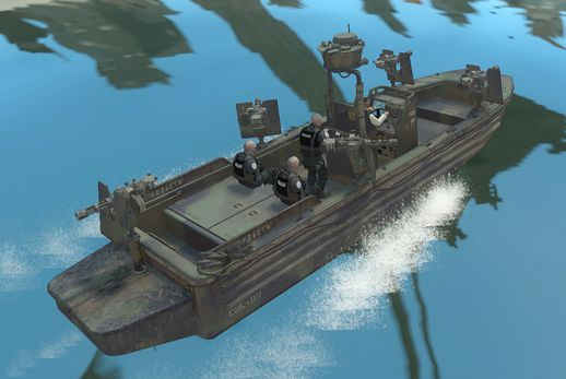 US Navy SEALs SOC-R boat