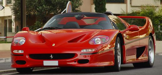 Ferrari F50 Engine Sound