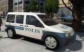 Ford Transit Connect Turkish Police ELS