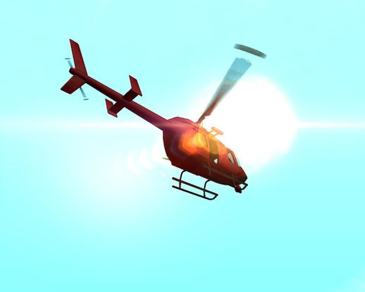 GTA V Maverick (With Original Rotor Effect)
