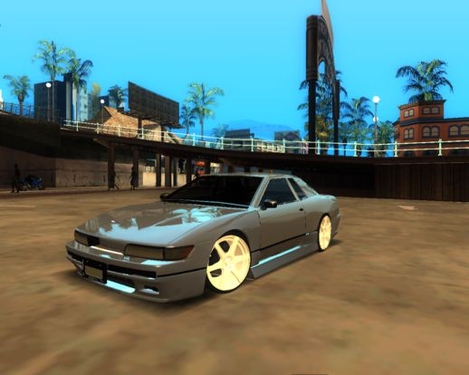 Elegy with Nissan Silvia S13 Front End