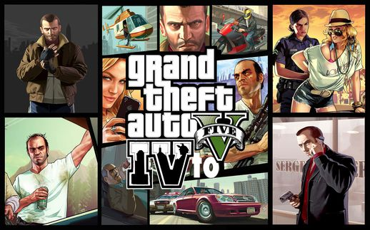 GTA V to IV Package V2.2