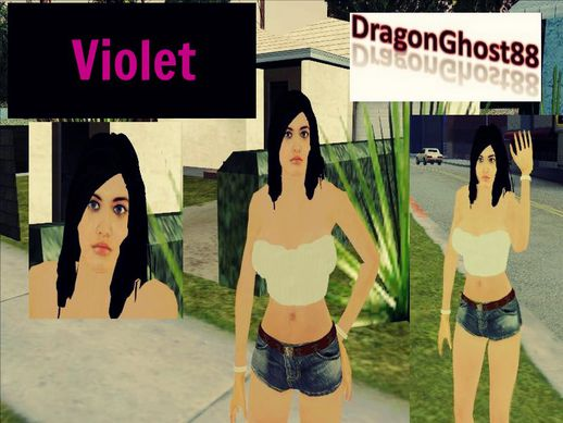 New Girlfriend Violet
