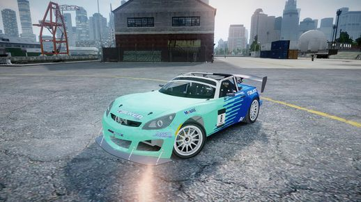 Saturn Sky Gymkhana (DiRT S)