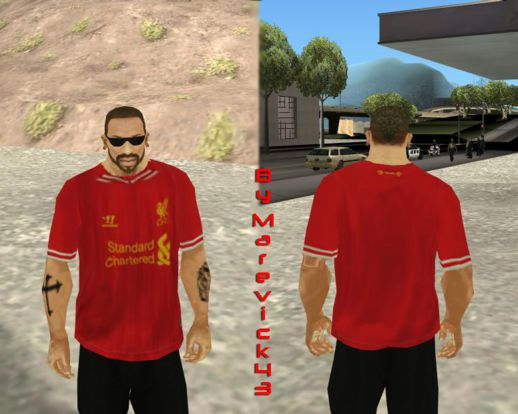 Liverpool FC 13-14 Kit T-Shirt