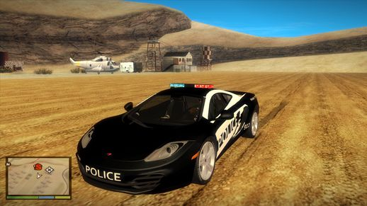 NFS Hot Pursuit McLaren MP4-12C Police Car