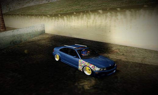 BMW e46 Hellaflush