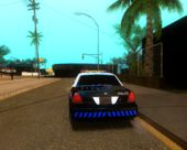 2009 Ford CVPI - Blue LSPD Theme