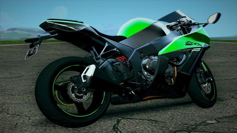 GTA San Andreas 2014 Kawasaki Ninja ZX10R Mod - GTAinside com