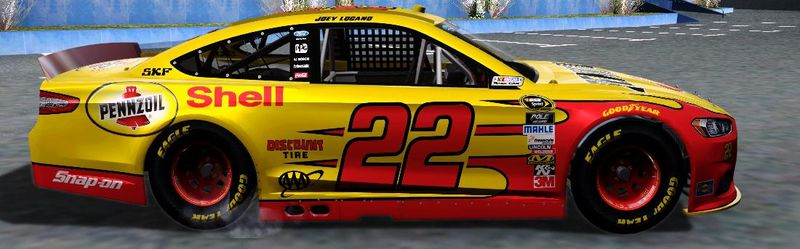 Gta San Andreas Ford Fusion Nascar Sprint Cup 2013 Mod Gtainside