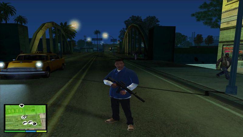 GTA San Andreas GTA V Graphic For GTA San Andreas Mod - GTAinside com