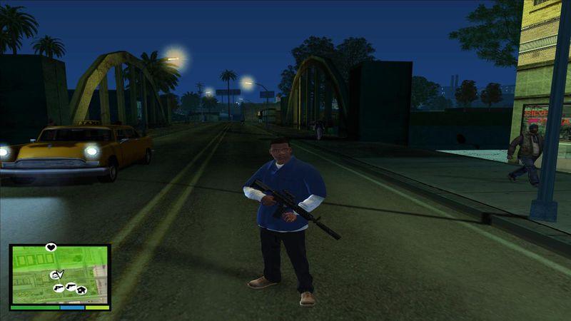 GTA San Andreas GTA V Graphic For GTA San Andreas Mod