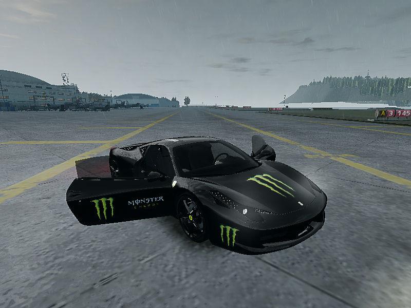 monster energy ferrari 458 - photo #10