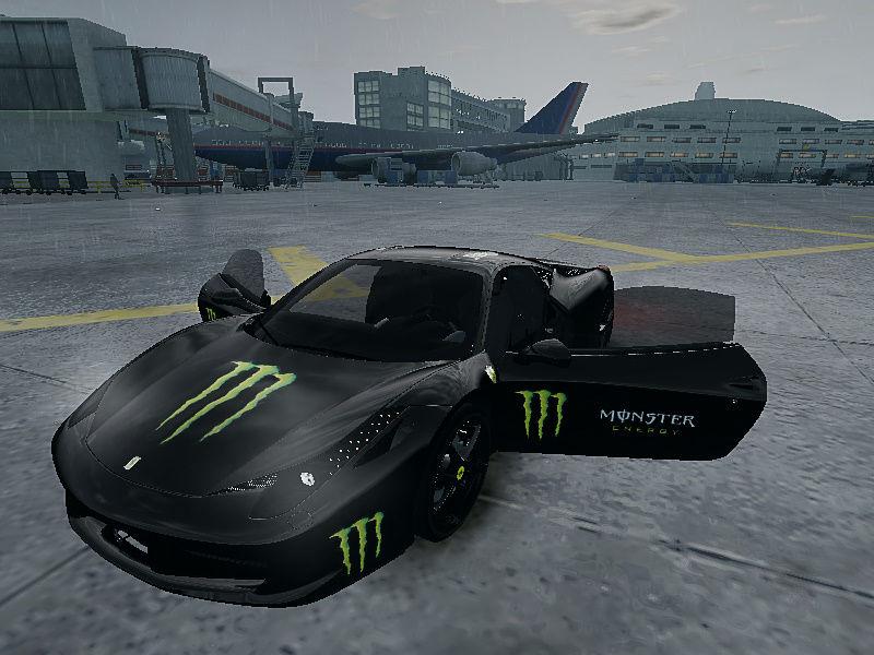 monster energy ferrari 458 - photo #7