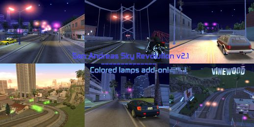 SASR v2.1 - Colored Lamps add-on