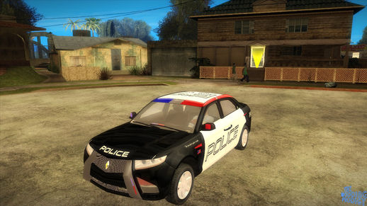 NFS Hot Pursuit Carbon Motors E7 Concept Police Car