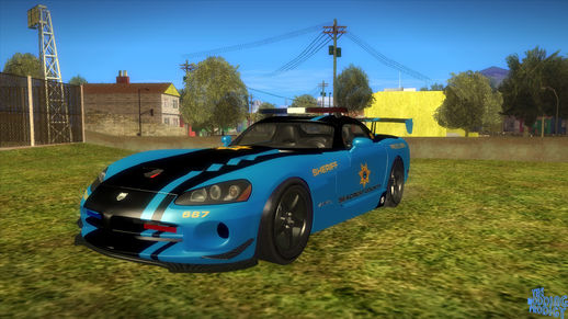 NFS Hot Pursuit Dodge Viper SRT 10 ACR Police Car