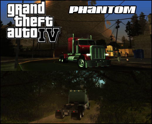 GTA IV Jobuilt Phantom