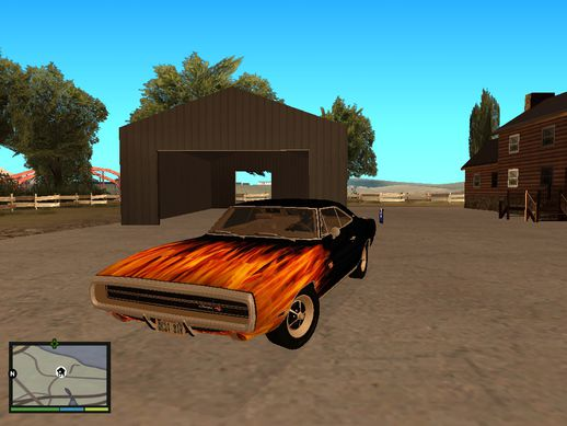 Dodge Charger RT 1970 Paintjob V3