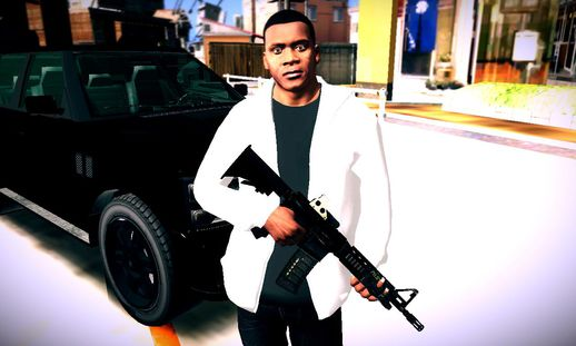GTA V Franklin in Casual Clothes