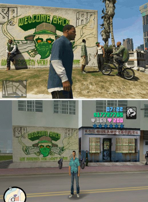 GTA V Wall Graffiti