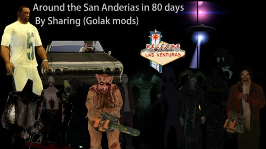Around the San Andreas in 80 days