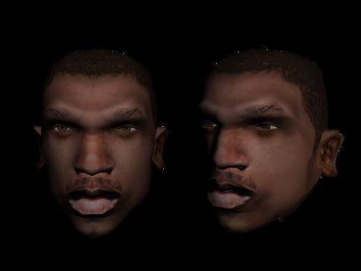 New Face Texture Cj