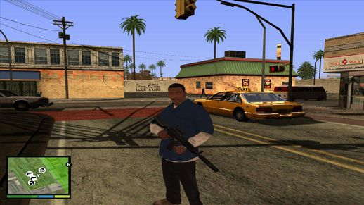 GTA V Graphic For GTA San Andreas